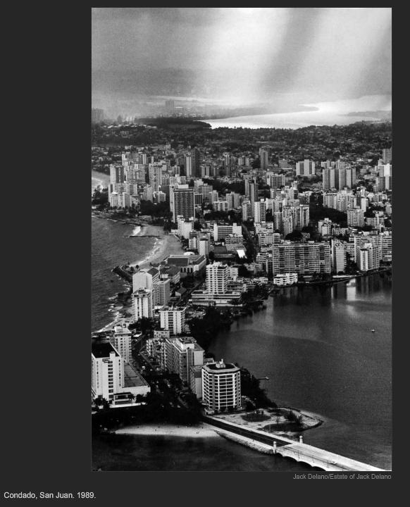 Condado, San Juan. 1989. Jack Delano