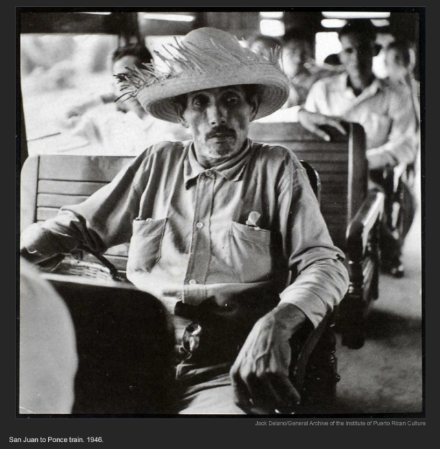 San Juan to Ponce train. 1946. Jack Delano