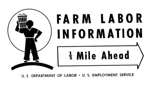 Farm Labor Information US Department of Labor 1950