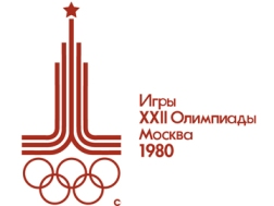 1980 Moscow Olympic Games Poster