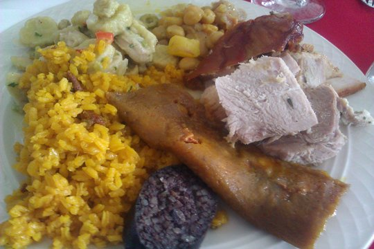 the perfect puerto rican christmas plate holiday food in puerto rico means a season of - Puerto Rican Christmas