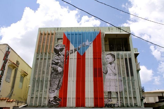 A mural in San Juan Puerto Rico Photo by Stephanie Segarra