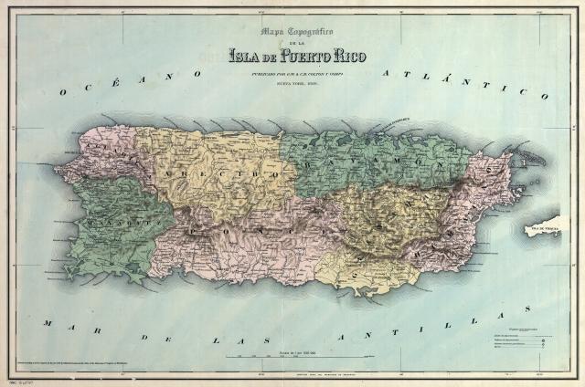 Puerto Rico departamentos Nueva York 1886